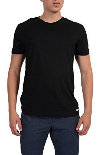 Dolce & Gabbana D&G Underwear Men's Black Basic T-Shirt US S IT 48