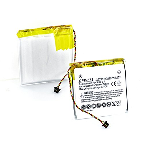 f5f433ce18c Amazon.com: Beats by Dr Dre Solo 3 Wireless Headset Battery (Li-Pol, 3.7V,  350mAh) Rechargeable Battery - Replacement for Beats by Dr Dre AEC353535  Battery: ...