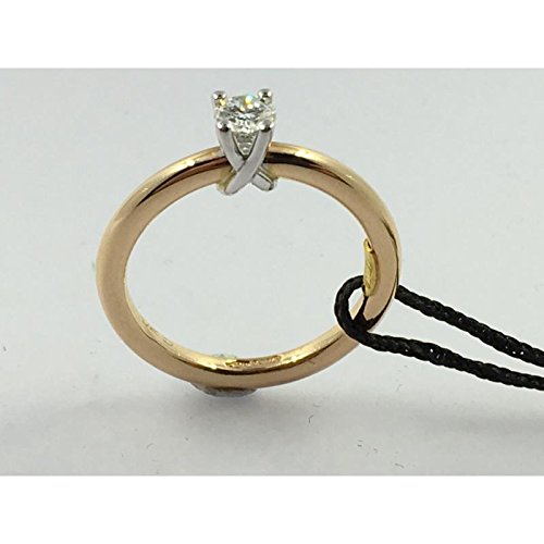 Bague recarlo Femme zr992br25 or jaune diamant