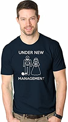 Under New Management T-Shirt Funny Married Couple Marriage Tee