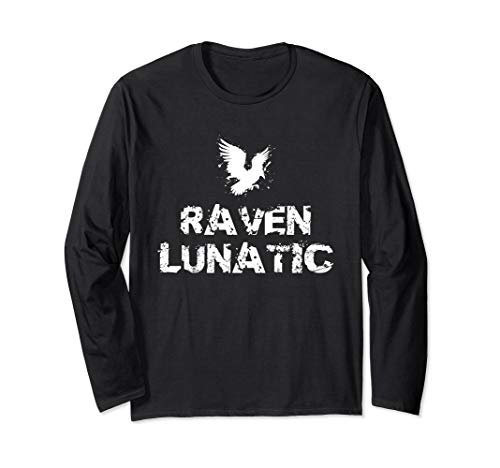 Raven Lunatic Funny Punny Halloween Pun Costume Shirt for $<!--$24.99-->
