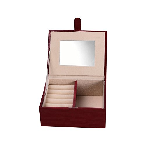 deluxe-leather-paper-red-wood-grain-jewelry-box-with-mirror-and-magnet