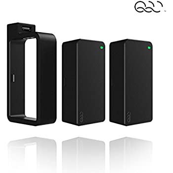 Q-SWAP Mobile Power - The Last Portable Charger You'll Ever Need, based on Q-Swap technology, Q-Swap: Fast Way to Get Power - Black - 10400 mAh