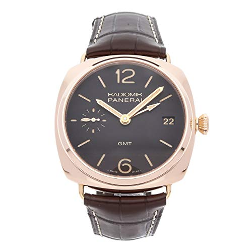 Panerai Radiomir Mechanical (Hand-Winding) Brown Dial Mens Watch PAM 421 (Certified Pre-Owned)