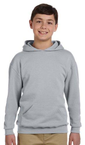 Jerzees Youth 8 oz., 50/50 NuBlend Fleece Pullover Hood, XL, - Jerzees Oxfords Fleece