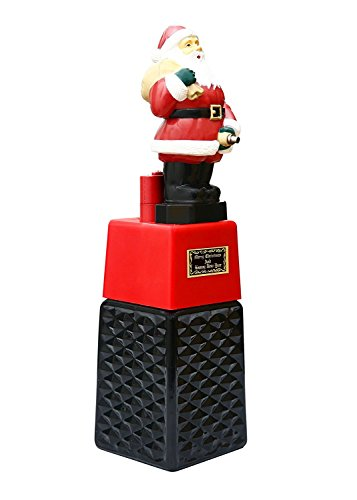 BARRAID Santa Claus Liquor/Whisky/Wine/Vodka Dispenser/Decanter Battery Operated for Bar/Pubs/Party/Home (Capacity 500 ml)