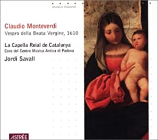 product image for Monteverdi: Vespro della Beata Vergine, 1610