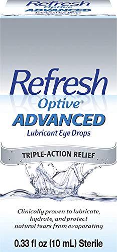 Refresh America Optive Advanced Lubricant Eye Drops Triple A