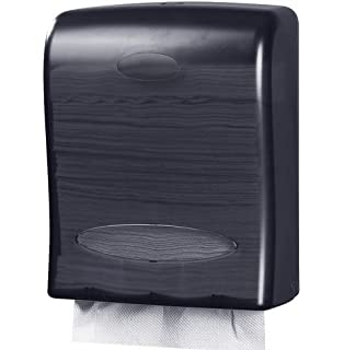 Oasis Creations Touchless Wall Mount Paper Towel Dispenser, Hold 500 Multifold Paper Towels