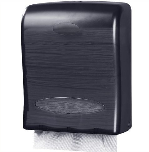 (Oasis Creations Touchless Wall Mount Paper Towel Dispenser, Hold 500 Multifold Paper Towels)
