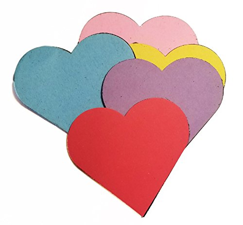 Creative Magnets - Small Assorted Color Heart