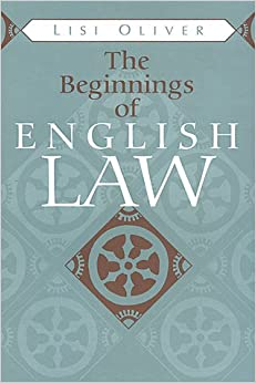 Book The Beginnings of English Law (Toronto Mediaeval Texts & Translations) (Toronto Medieval Texts and Translations)