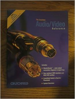 The Crutchfield Audio/Video Reference: crutchfield: Amazon