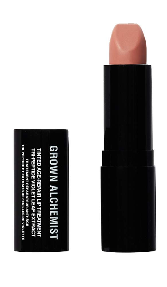 Grown Alchemist Tinted Age Repair Lip Treatment - Tri-Peptide & Violet Leaf Extract (3.8 Grams, 0.14 Ounces)