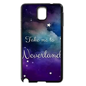 Hjqi - DIY Take Me To Neverland Cell Phone Case, Take Me To Neverland Custom Case for Samsung Galaxy Note 3 N9000