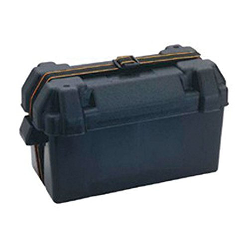 Attwood 9084-1 Large Battery Box - 29/31 Series, Vented , Black (Best Group 31 Battery)