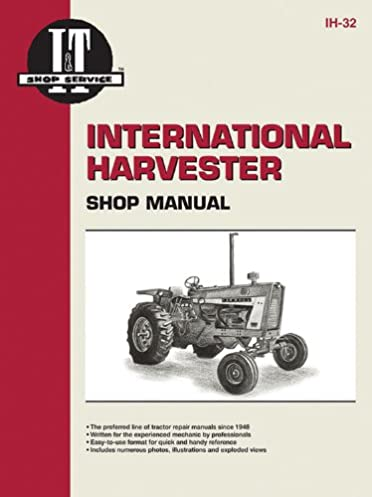 international harvester shop manual series 706 756 806 856 1206 rh amazon com Case Tractor Wiring Diagram Farmall International Tractor Wiring Diagram