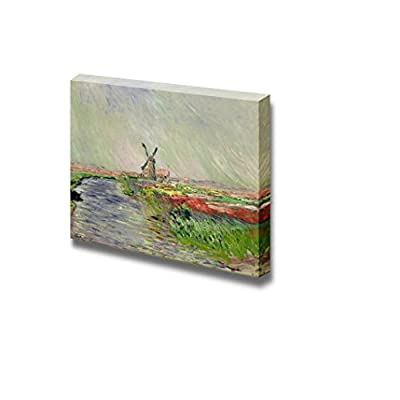 it is good, Fascinating Piece of Art, Tulip Field in Holland by Claude Monet Print Famous Painting Reproduction