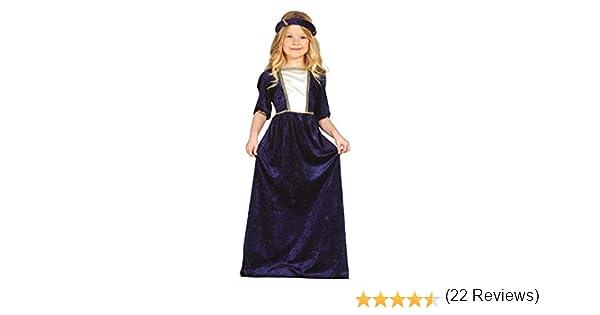 FIESTAS GUIRCA Disfraz Noble cortesana Dama Medieval niña Talla 3 ...