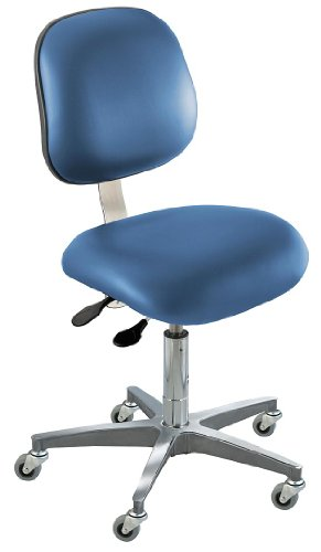 - BioFit - EEC-L-R-VUV-AV106 - Upholstered Vinyl Ergonomic Chair with 17 to 22 Seat Height Range and 300 lb. Weight Capacity, Roy