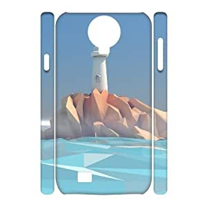 Custom New Case for SamSung Galaxy S4 I9500 3D, Lighthouse Phone Case - HL-R648572