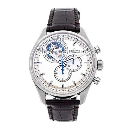 Zenith El Primero Mechanical (Automatic) Silver Dial Mens Watch 03.2050.4035/01.C713 (Certified -