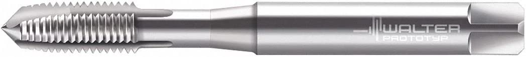 Thread Size #6-40 Bright UNF HSS-E Overall Length 56.00mm Spiral Point Tap Uncoated