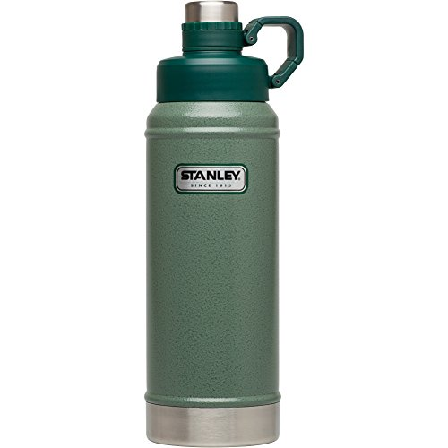 Stanley Classic Vacuum Water Bottle, Hammertone Green, 36 (001 Vacuum Bottle)