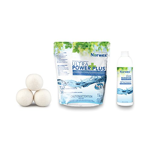 Norwex Let's do Laundry Bundle, Stain Remover, Dryer Balls, Detergent