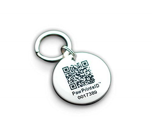 PawPrintsID GPS Pet Collar Rescue and Recovery ID Dog Tag