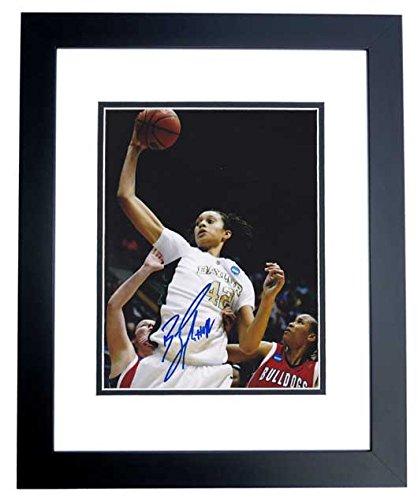 (Brittney Griner Signed - Autographed Baylor Bears 8x10 inch Photo BLACK CUSTOM FRAME - 2012 NCAA National Champion)