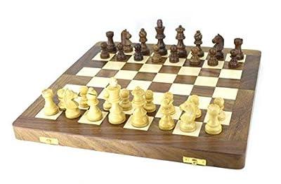 VA Wooden Folding Chess Board Made Sheesham Wood (1434; x 1434;)