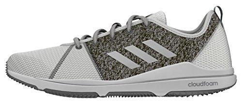 adidas Arianna Cloudfoam, Women's Sneakers Multicolour (Ftwr White/Silvermetallic/Dgh Solid Grey)