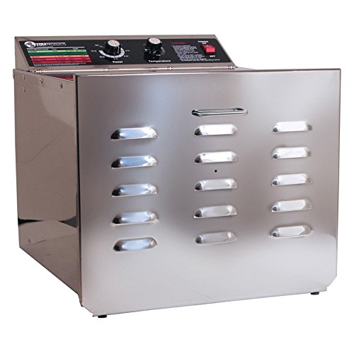TSM-D-10-Stainless-Steel-Food-Dehydrator-with-14-Stainless-Steel-Shelves