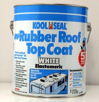 Kool Seal RV Rubber Roof Top Coat, 1gal 63 900 1