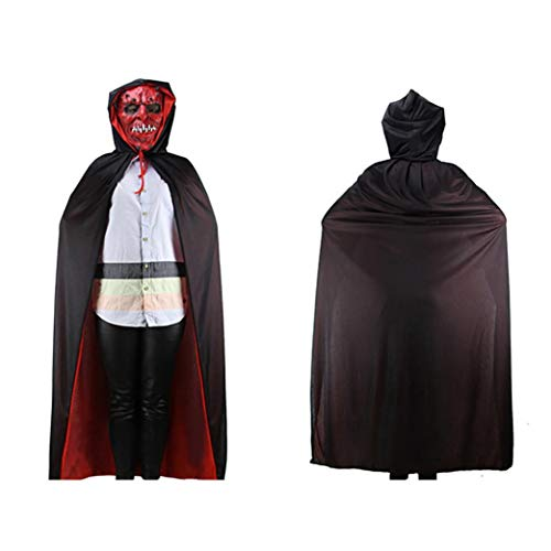 Halloween Costume Capes,ZYooh Halloween Party Ghost Clothes Hooded