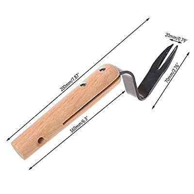 Forked Head Weeder Puller Remove Weeds Shovel Garden Trimming Tools Gadgets