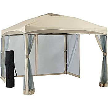 Better homes and gardens lawrence portable patio gazebo 10 39 x 10 39 garden outdoor Better homes and gardens gazebo