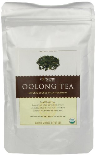 Oolong Organic Tea Extreme Health USA Extreme Santé, Total Santé Loose Leaf Tea, 4 once Pouch