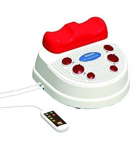 Chi Maschine Fussmassage Infrarot Fernbedienung Twister Wellness