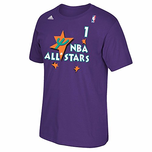 ORLANDO MAGIC ANFERNEE PENNY HARDAWAY ALL STAR 1995 PURPLE T SHIRT 1995- - 웹