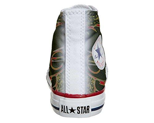 CONVERSE Personalizzate All Star Sneaker unisex (Scarpa artigianale) Stewie Griffi