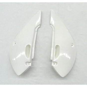 for Kawasaki SD CVR KX80 98-00 White UFO KA03714047 Replacement Plastic