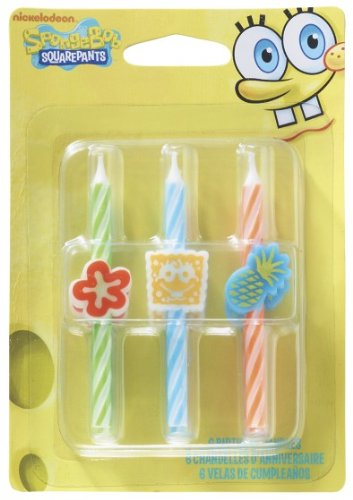 SpongeBob Squarepants Icon Candle]()