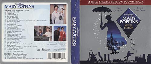 Mary Poppins - 2 Disc Special Edition Original Motion Picture Soundtrack - CD Brand New
