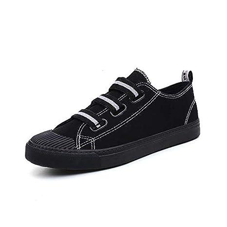 ZHZNVX Zapatos de Mujer de Microfibra sintética PU Primavera y Verano Zapatos vulcanizados Zapatillas de Deporte tacón Plano Lazo de Cinta de Punta Redonda ...