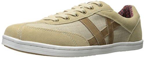 Ben Sherman Men's Lox T Toe Fashion Sneaker Tan iGZKYY