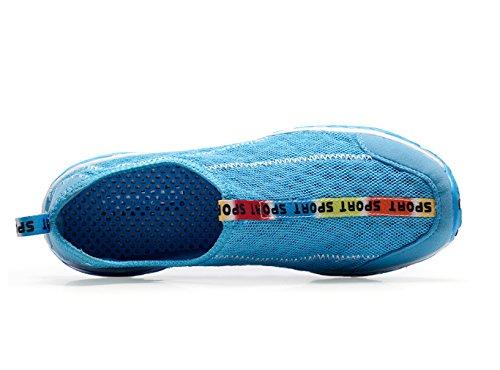 malla Azul de Escarpines para XMeden mujer zwE17
