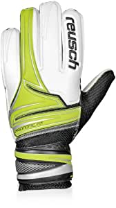 Reusch Argos RG Goalkeeper Goalie Glove, Lime Punch, 7