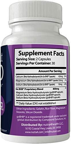 Supercut Keto Diet Pills Weight Loss Support Pill, BHB Burn Fat Supplement Pill, 800 mg Formula with New True Slim GO BHB Salts Formula, Advanced Appetite Suppressant Capsules … 3